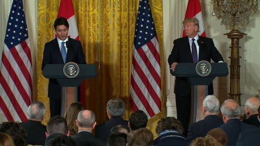 Trump admits to fudging facts in trade talk with Canada's PM, report says