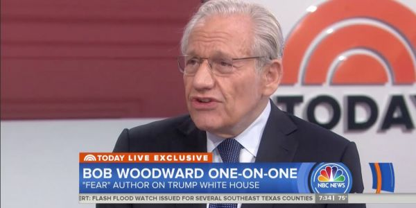 'They are not telling the truth': Bob Woodward responds to White House chief of staff John Kelly and Defense Secretary James Mattis denying quotes from his new book