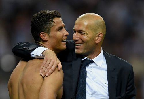 Zinedine Zidane says Cristiano Ronaldo's bicycle kick was one of the best goals in history - but he once scored one 'even prettier'