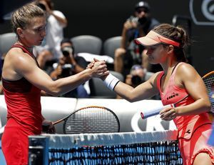 Halep shows new mental strength in epic Aussie Open match