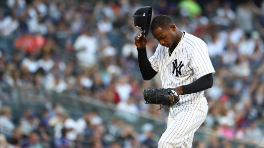 Yankees place Domingo German, MLB wins leader, on IL