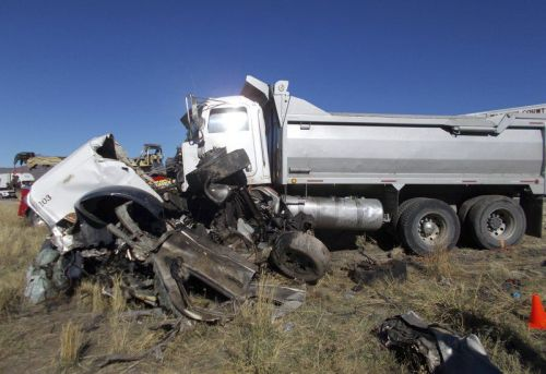 Utah truck driver is jailed without bond after crash kills 6