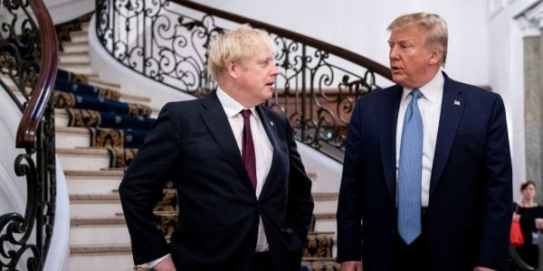 Iran's president says he does not know what Boris Johnson 'is thinking' after the UK prime minister called for a Trump nuclear deal