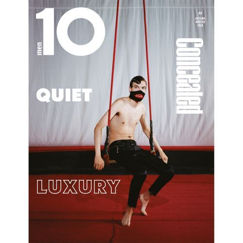 Here's The Second Cover of Ten Men Issue 48 With some Fabulous Gucci and Our Editor's Letter