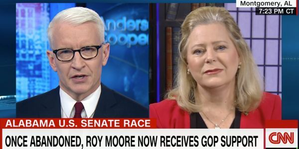 CNN's Anderson Cooper grills Roy Moore spokeswoman about controversial past positions on homosexuality, 9/11, and Muslims
