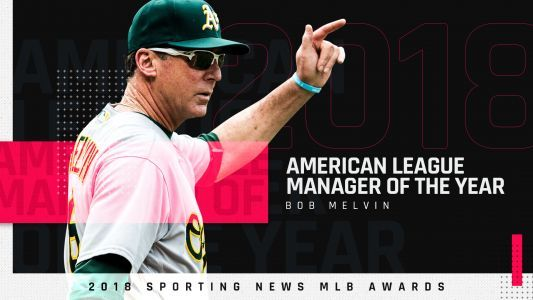 Athletics' Bob Melvin voted Sporting News 2018 AL Manager of the Year