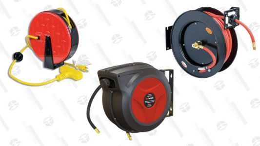 Reel in a Good Deal on Industrial Airhose and Cord Reels