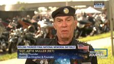 Trump Says Rolling Thunder D.C.'s Ride Won't End This Year, Mystifying Event's Founder