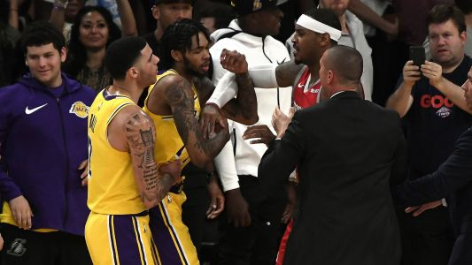 Lakers, Rockets should feel fortunate after light punishments for brawl in LA