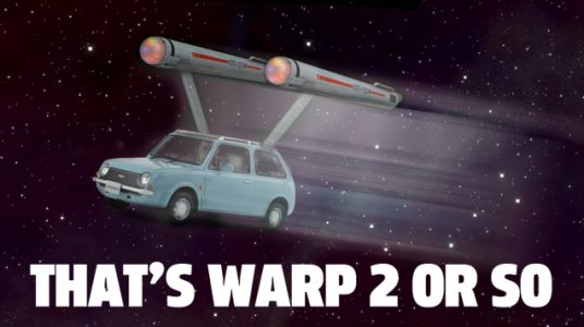 In Your Head, What Counts As Warp Speed In Your Car?