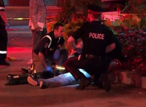 Multiple people shot outside restaurant in Toronto, police say