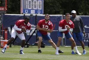 Luck felt sore, tired but pain-free after throwing at camp
