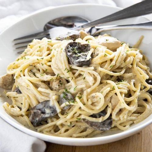 One Pot Chicken Tetrazzini