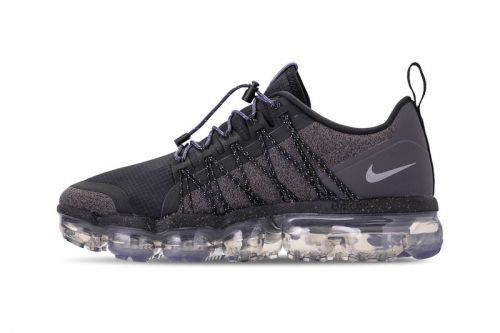 "The Nike Air VaporMax Run Utility Surfaces in a ""Reflect Silver"" Colorway"