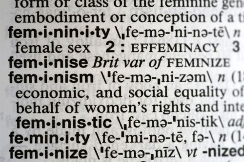 """Feminism"" Is Merriam-Webster's 2017 Word of the Year"