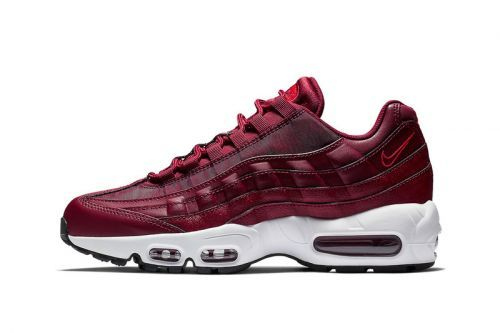 """Nike Dresses the Air Max 95 in """"Team Red"""""""