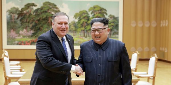 'I find that question insulting and ridiculous': Pompeo gets testy with reporter who asks how the US will make sure North Korea denuclearizes