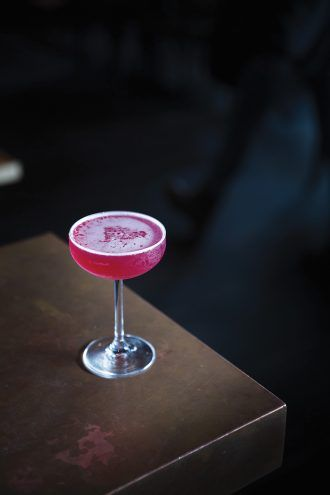 Jack's Rose Cocktail
