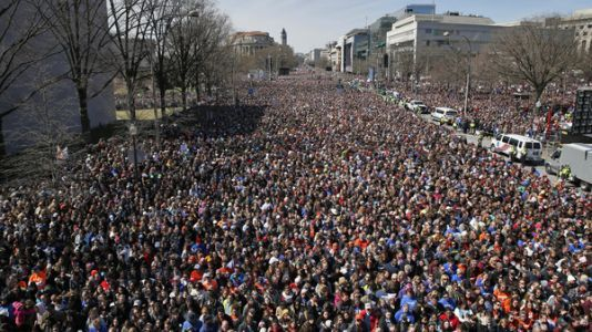 Watch: 'March For Our Lives' Rally In Washington, D.C
