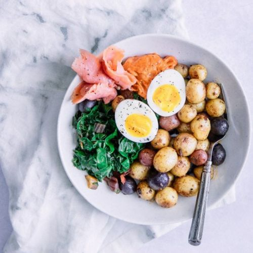 Smoked Salmon Breakfast Bowl