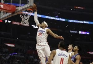 Clippers beat Hornets 128-109 for 9th straight time at home