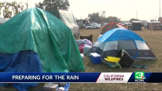 Rain brings new set of challenges for Camp Fire evacuees