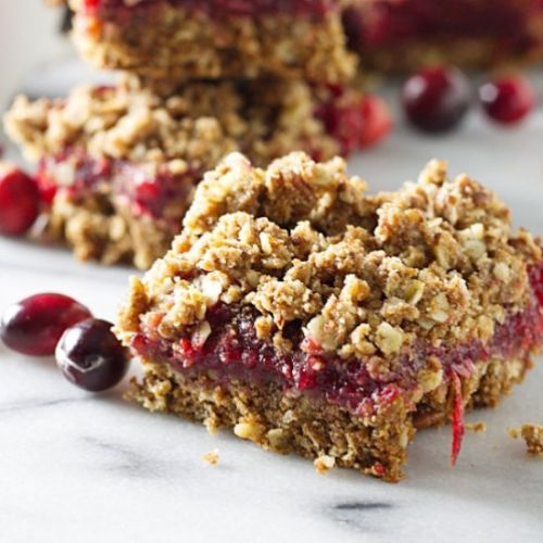 Sprouted Wheat Cranberry Bars