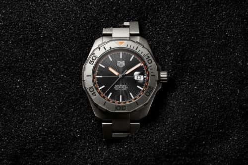 Bamford Watch Department Looks to the Archives for TAG Heuer Aquaracer Collaboration
