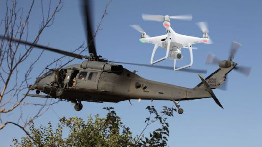 A Drone Caused Serious Damage After Crashing Into An Army Helicopter Over Staten Island