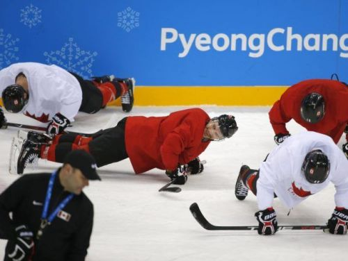 Canadian men's hockey team has to work harder, says coach - three pre-tournament wins be damned
