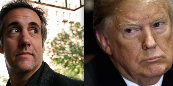 'Totally unheard of & perhaps illegal': Trump erupts amid news that Michael Cohen may have secretly recorded a conversation with him