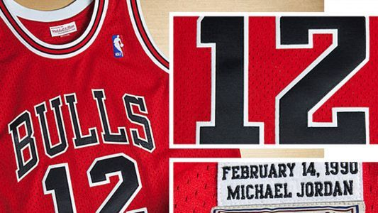 That time Michael Jordan had to wear No. 12 after someone stole his jersey