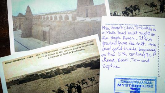 Why It's Easy - And Hard - To Get A Postcard All The Way From Timbuktu