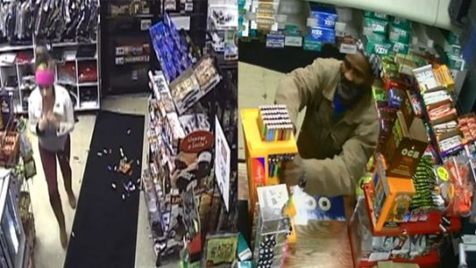 Police: 2 wanted after breaking into gas station, stealing goods in Roselawn