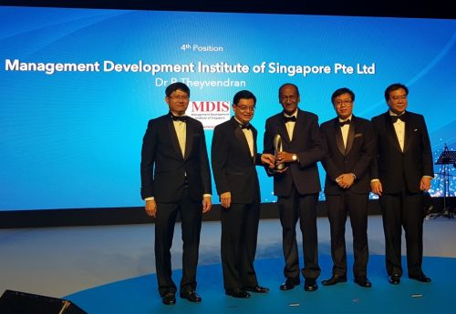 A Benchmark for Business Excellence; MDIS wins Enterprise 50 Awards