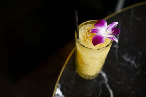Banarasi Gold: A Mango Lassi Cocktail