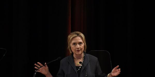Hillary Clinton calls for immigration reform on 'both sides of the Atlantic' after she's slammed for blaming migration for the rise of populism in Europe