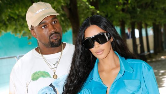 Kanye West Wasn't so Sure About Leaving Donald Trump Alone With Kim Kardashian