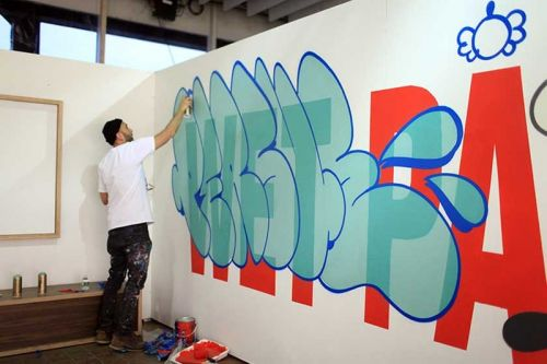 """Persue Launches """"Wet Paint"""" Exhibition in Tokyo's Basement Ginza"""