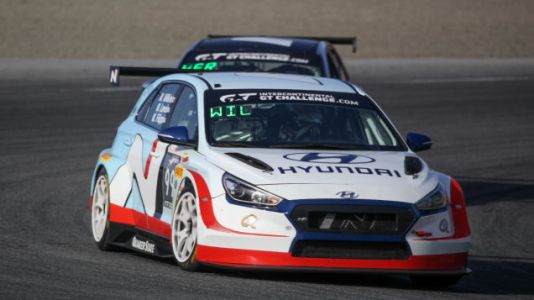Hyundai recently took the TCR class World Challenge California 8 Hours at Laguna Seca with Bryan Her