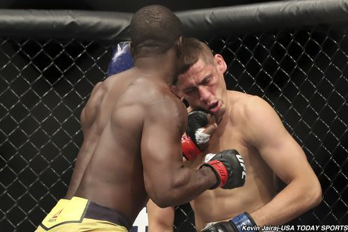 Report: UFC's Abdul Razak Alhassan indicted for alleged sex assault while working as bouncer
