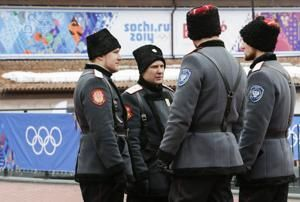 Cossacks on horseback enlisted to guard World Cup in Russia