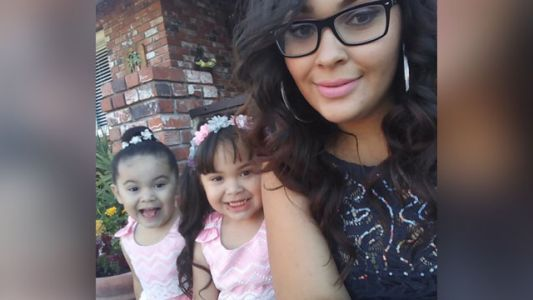 Two little girls dead after driver fleeing police runs red light, crashes