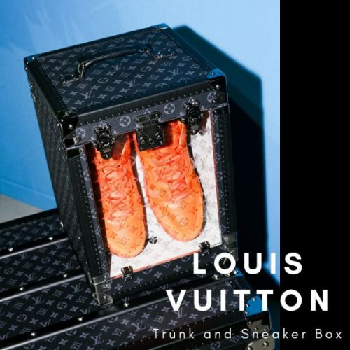 Louis Vuitton Trunk and Sneaker Box
