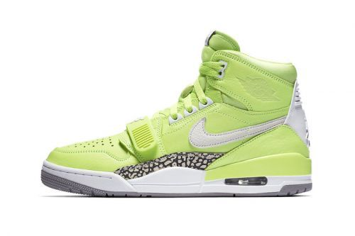 """An Official Look at the Don C x Jordan Legacy 312 """"Ghost Green"""""""