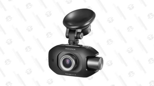 Capture Front and Rear Views With $30 off an Insignia Dash Cam
