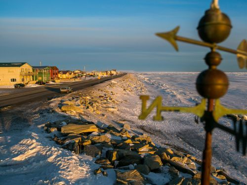 For some Alaska Natives, the Bering Sea and an international border make it hard to go home