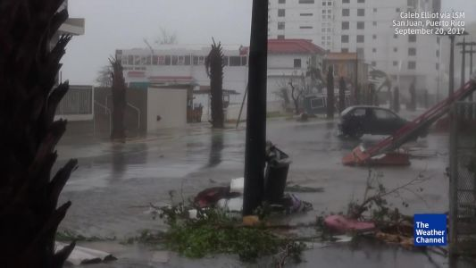 Puerto Rico​ witness following Hurricane Maria: 'You can hear everything crashing outside'
