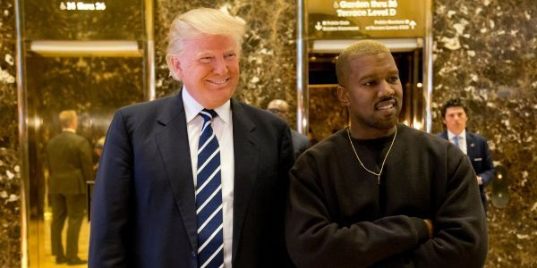Radio host says Kanye told him: 'I love Donald Trump'