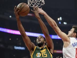 Jazz beat Clips 129-109 for 1st 5-game win streak of season